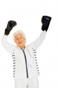 active senior boxing