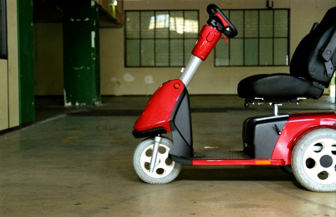 A motorized personal transport like the one pictured can help seniors unlock and explore more of their community and environment. (Photo: Free Images)